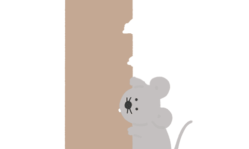 ねずみのイラスト