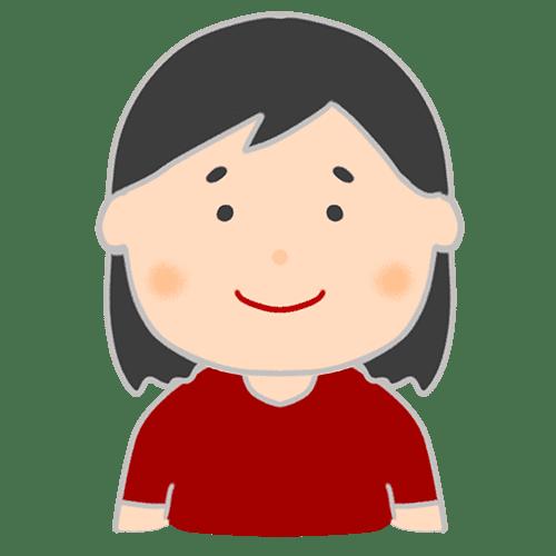 【喜怒哀楽の表情】女性のイラスト
