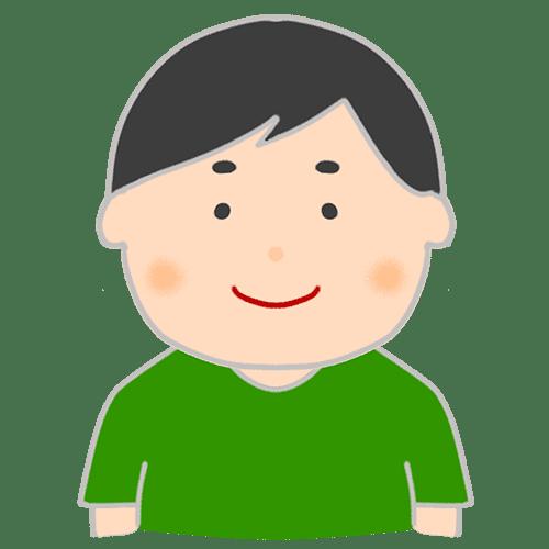 【喜怒哀楽の表情】男性のイラスト