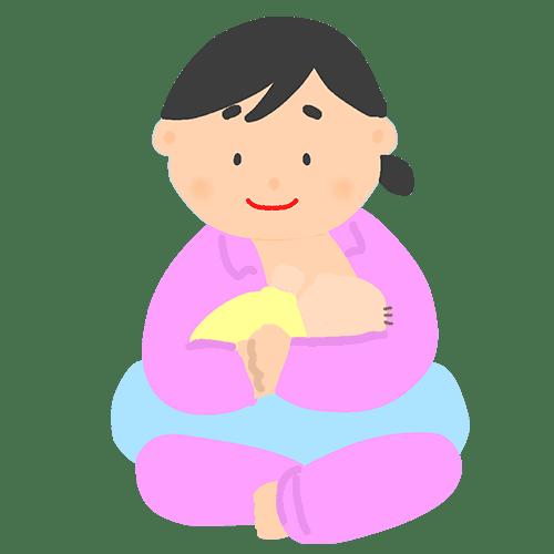 授乳のイラスト1